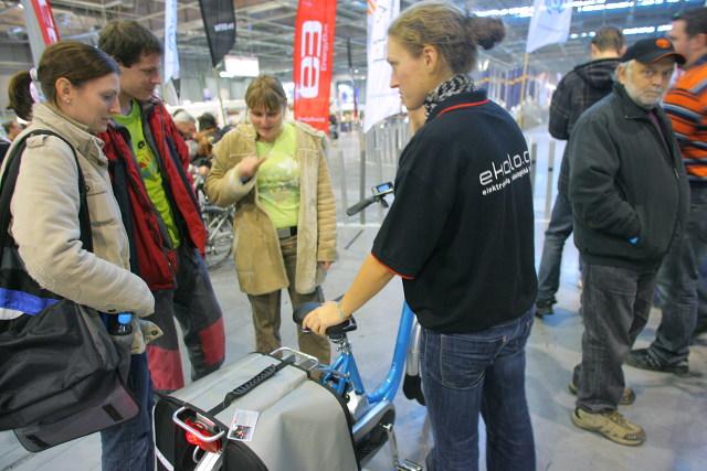 Elektrokola na veletrhu Sport Life 2009