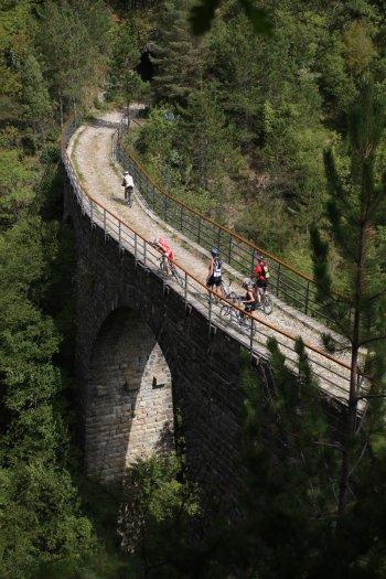 Parenzana na kole