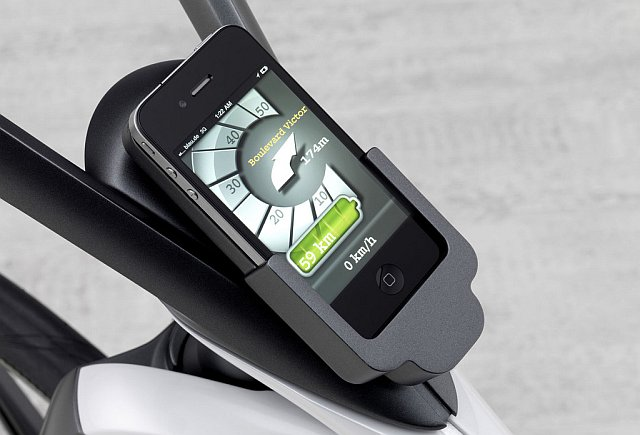 Smart e-bike: propojení se Smartphonem