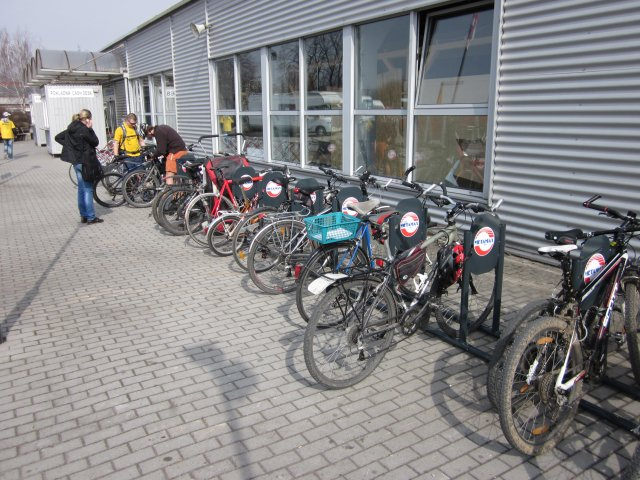For Bikes 2011: cyklisté jeli na veletrh na kole