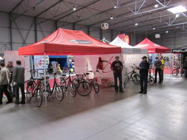 For Bikes 2011: elektrokola bylo možné vyzkoušet na testovací dráze