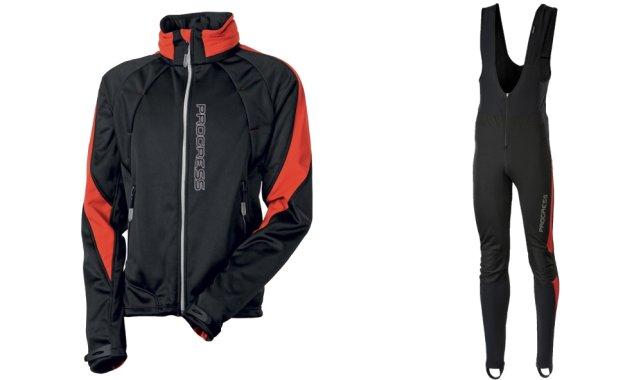 Na dolní končetiny lze při velké zimě navléci pod dlouhé cyklistické kalhoty  (tzv. čapáky) ještě tenké funkční spodky. Svrchní vrstva je tvořena  samotnými ... 0f470af405