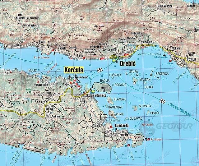 Ceske Mapy Dalmacie Znovu Slavi Uspech K Dostani Jsou Uz I V