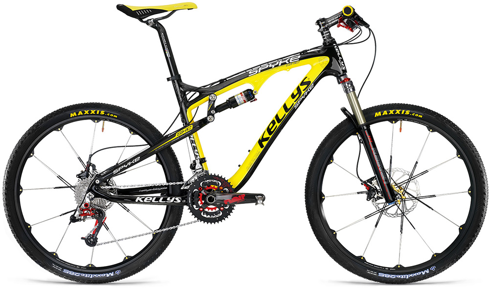 kellys spyke mtb xc fs kola 2010. Black Bedroom Furniture Sets. Home Design Ideas