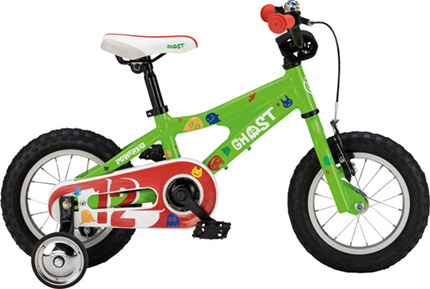 Ghost Powerkid 12 green