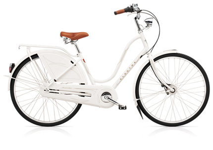 Electra Amsterdam Royal 8i white ladies