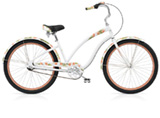 Electra Butterfly 3i pearl white ladies'