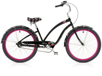 Electra Cherie 7i black ladies'