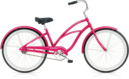 Electra Coaster 1 (Alloy) electric pink ladies'