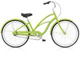 Electra Coaster 3i (Alloy) electric green ladies'