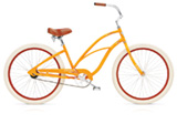 Electra Cruiser 1 custom orange ladies'