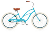 Electra Cruiser 1 custom turquoise ladies'