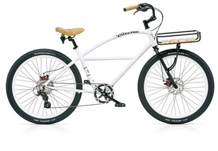 Electra Delivery 8D (Alloy) white men's