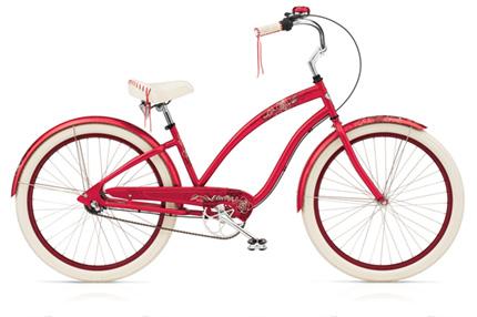 Electra Fleur 3i raspberry ladies'