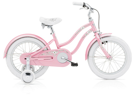"Electra Hawaii Kids' 1 16"" pink girls'"