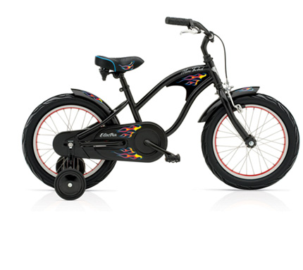 "Electra Mini Rod Kids' 1 16"" black boys'"