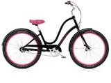 Electra Townie Balloon 3i black ladies'