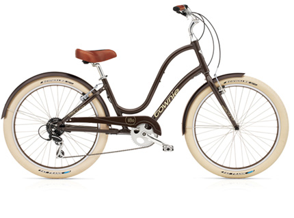 Electra Townie Balloon 8D coffe ladies'