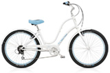 Electra Townie Balloon 8D pearl white ladies'
