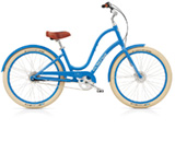 Electra Townie Balloon 8i indigo ladies'
