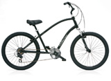 Electra Townie Original 21D black satin men's