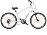 Electra Townie Original 21D liquid silver men's