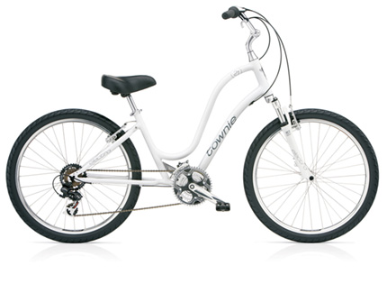 Electra Townie Original 21D white ladies'