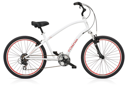 Electra Townie Original 21D white men's