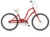 Electra Townie Original 3i cranberry ladies'