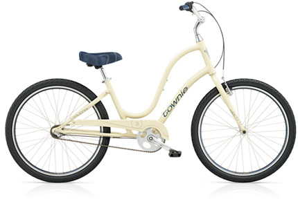 Electra Townie Original 3i creamy ladies'