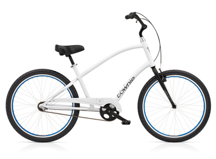 Electra Townie Original 3i white men's