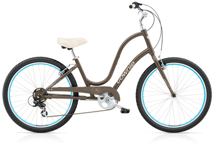 Electra Townie Original 7D quartz grey ladies'