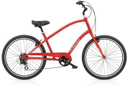Electra Townie Original 7D red men's