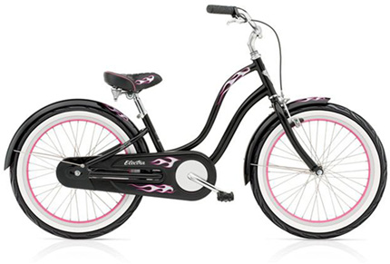 "Electra Betty Kids' 3i 20"" black girls'"
