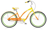 Electra Daisy 3i yellow fade ladies'