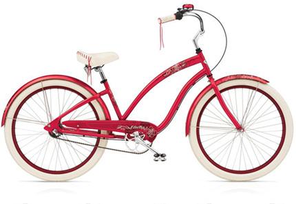 Electra Fleur 7i raspberry ladies'