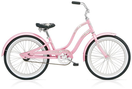 "Electra Hawaii Kids' 1 20"" pink girls'"
