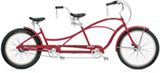 Electra Hellbetty Tandem 3i hot red