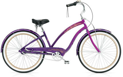 Electra Karma 3i purple fade ladies'