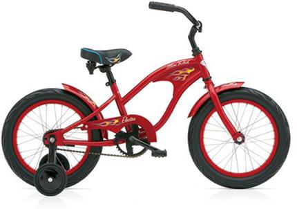 "Electra Mini Rod Kids' 1 16"" red boys'"