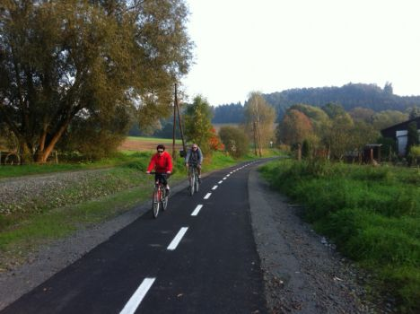 Cyklostezka Nov� Ji��n - Hosta�ovice