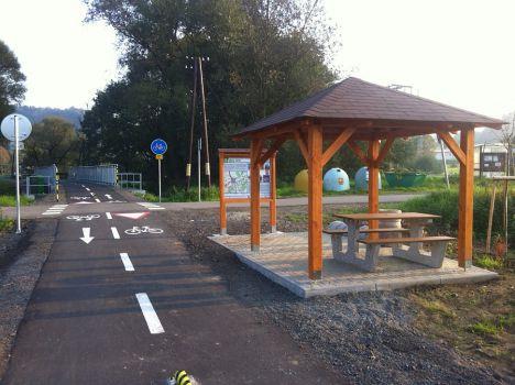 Cyklostezka Nový Jičín - Hostašovice